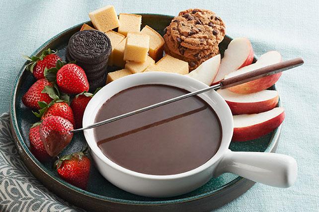 dessert.fondue