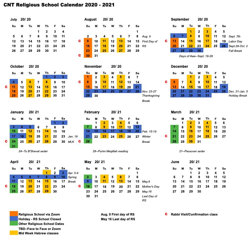 RS Calendar